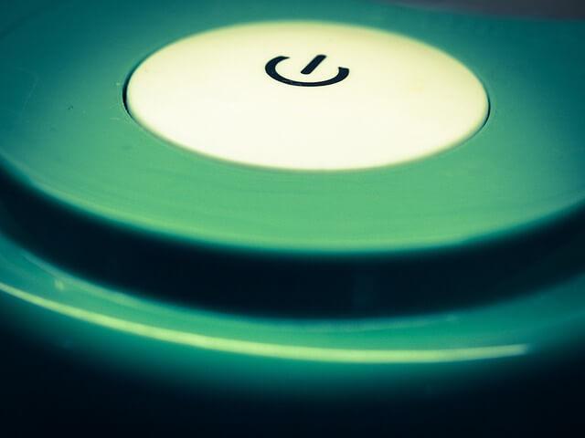 スイッチボタンの写真
