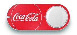 コカ・コーラのダッシュボタンの写真