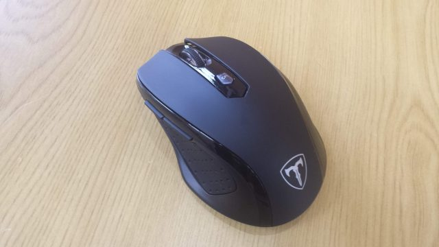 Qtuo 2.4G ワイヤレスマウスの写真