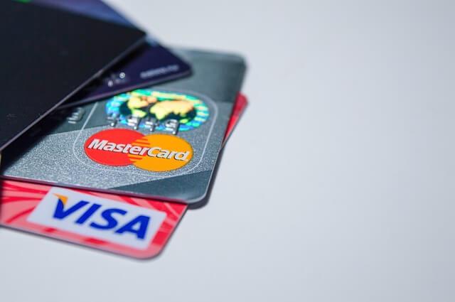デビットカードの写真