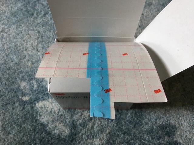 防水テープ中身写真