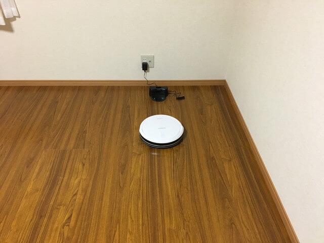 出発すつロボット掃除機の写真