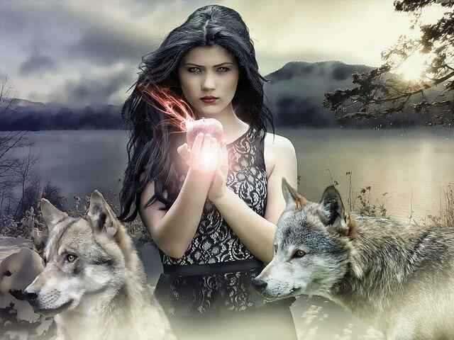 ファンタジーの魔女