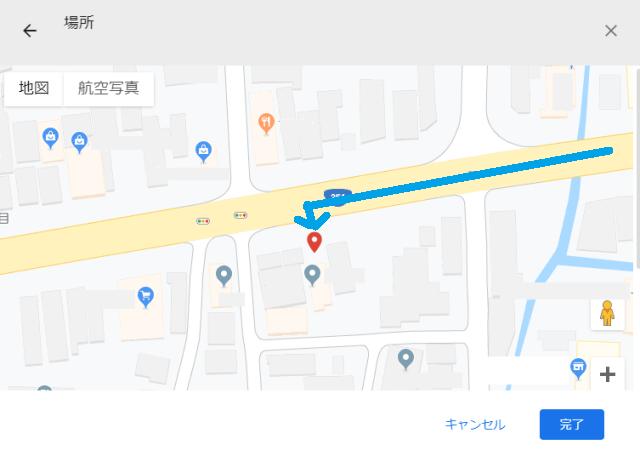 大通りから入れるルート